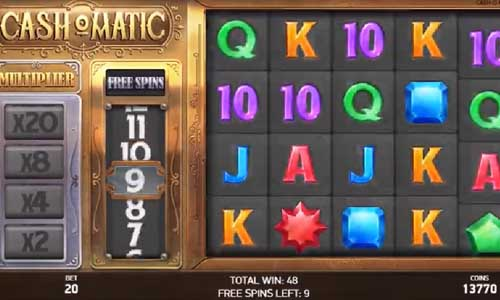 Cashomatic free slot