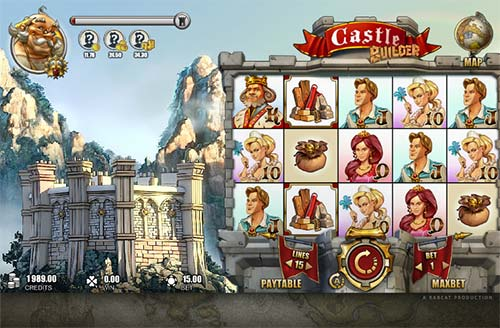 Castle Builder free slot