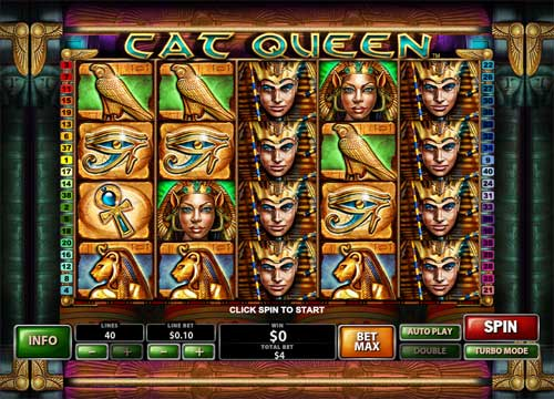 Cat Queen™ Slot Machine Game to Play Free in Casino Technologys Online Casinos