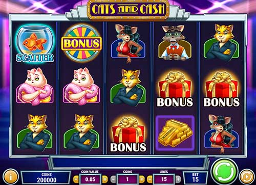 Cats And Cash free slot