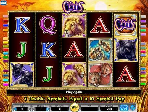 100 cat slots free online games