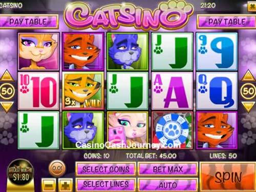 Catsino free slot