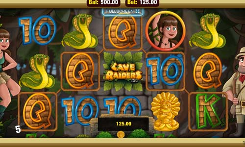 Cave Raiders free slot