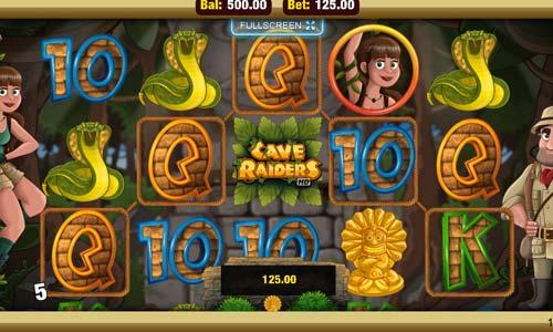 Cave Raiders casino slot