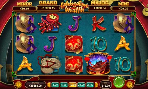 Celebration of Wealthjackpot slot