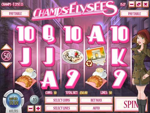 Champs Elysees free slot