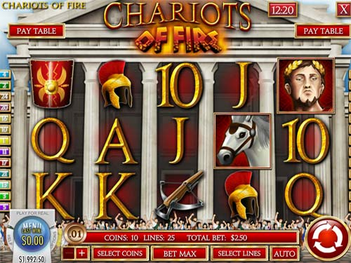 Chariots of Fire free slot
