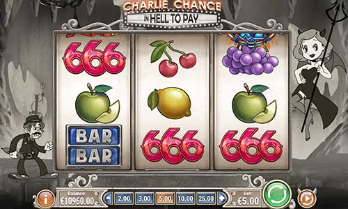 Charlie Chance in Hell to Pay free slot
