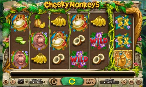 Cheeky Monkeys free slot