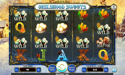 Childhood Sweets free slot