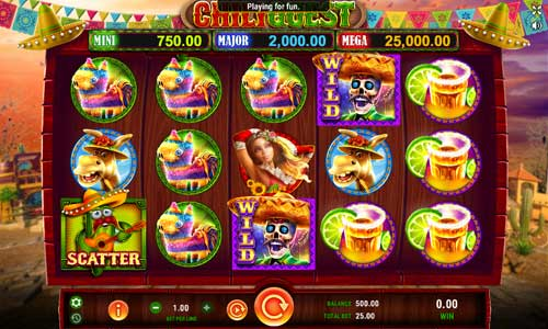 Chili Quest free slot