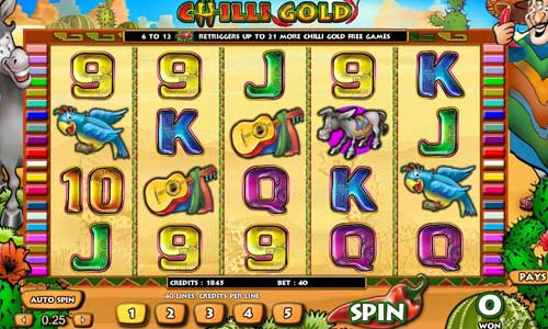 Chilli Gold free slot
