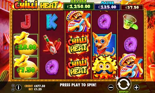 Chilli Heat free slot