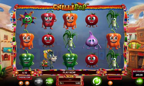 Chilli Popcluster pays slot