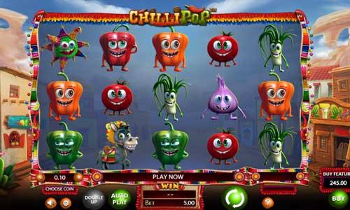 Chilli Pop free slot