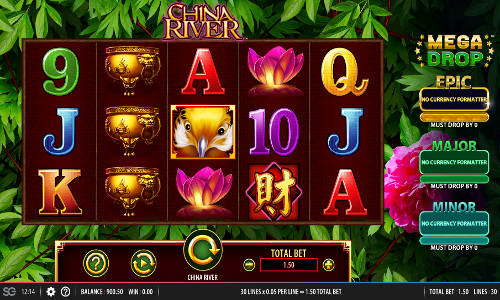 China River casino slot