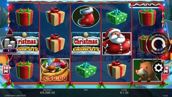 Christmas Cash Pots free slot