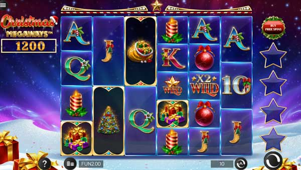 Christmas Megawaysincreasing multiplier slot
