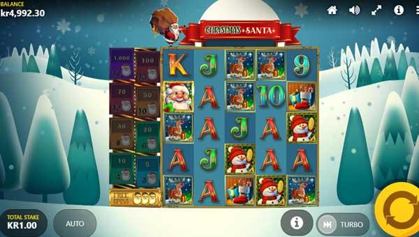 Christmas Santa free slot