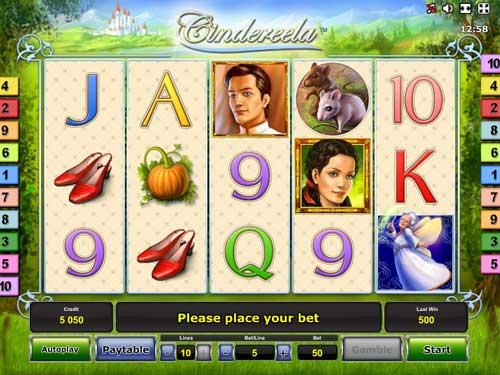 Cindereela free slot
