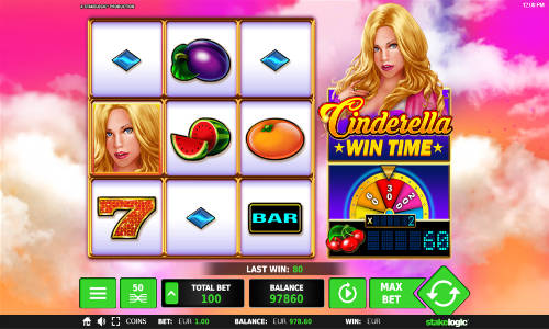 Cinderella Wintime casino slot