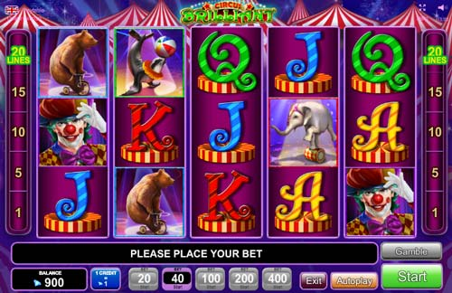 Circus Brilliant free slot