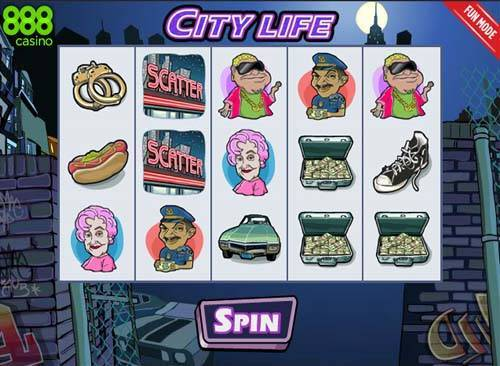 City Life Slot - Play the Free 888 Casino Game Online