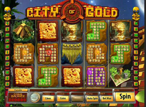 City of Gold free slot