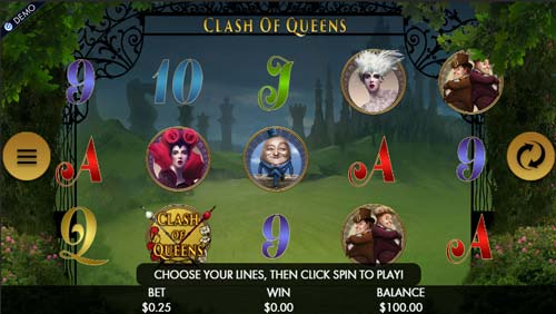 Clash of Queens free slot