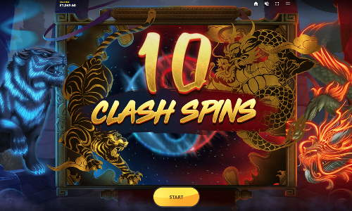 Clash of the Beasts free slot