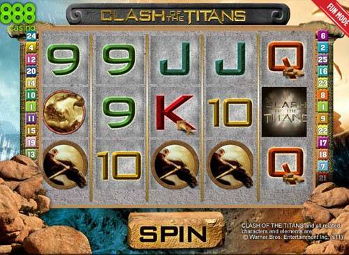 Clash of the Titans free slot