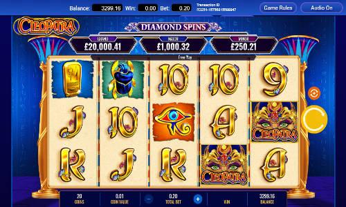 Cleopatra Diamond Spins free slot