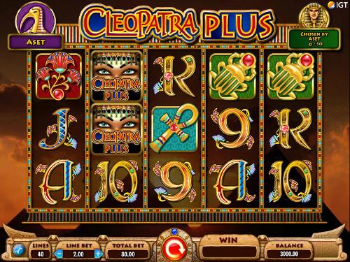 Cleopatra Plus free slot