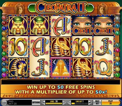 Cleopatra II free slot
