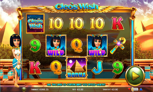 Cleos Wish free slot
