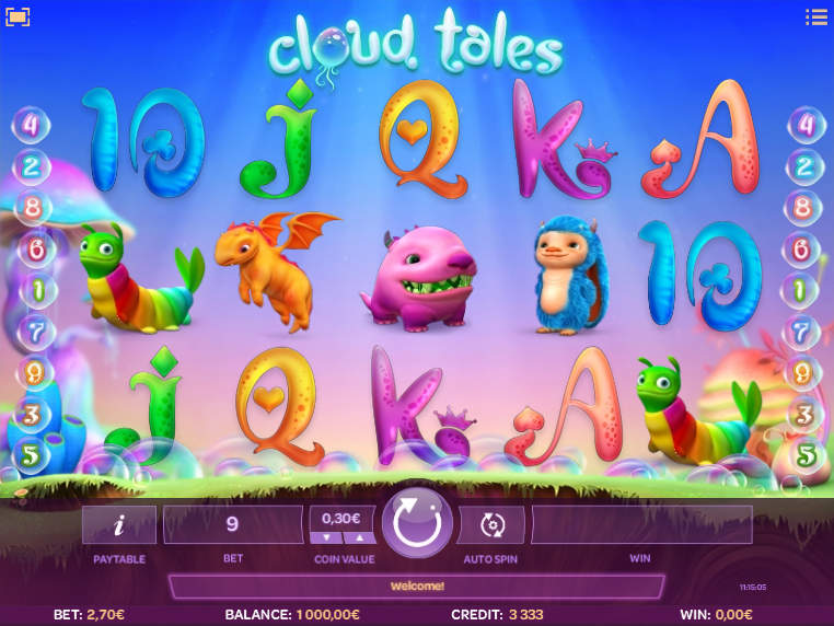 Cloud Tales slot