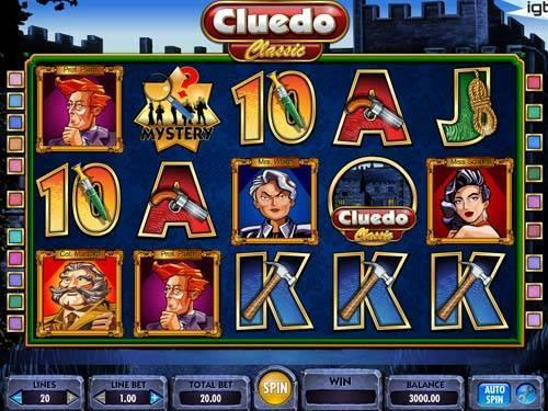 Cluedo free slot