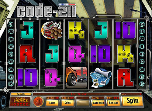 Code 211 free slot