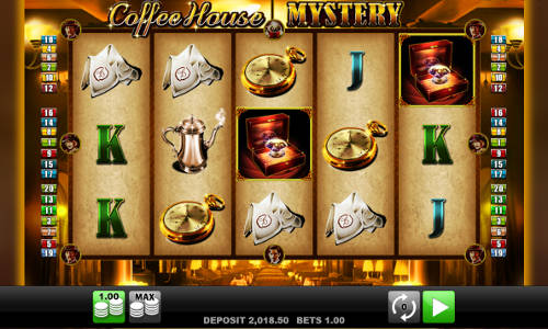 Coffee House Mystery free slot