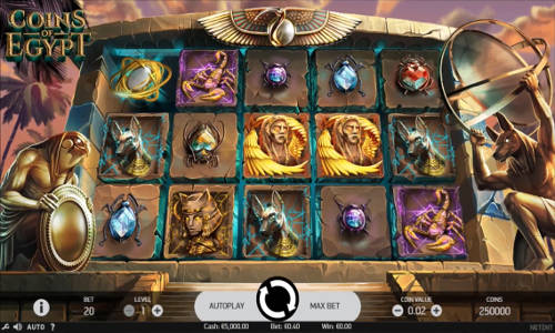 Coins of Egypt free slot