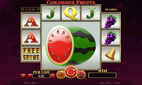 Colossus Fruitscolossal symbols slot