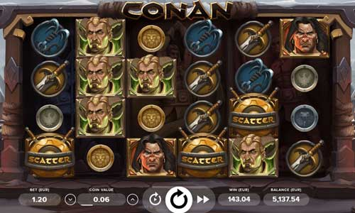 Conan free slot