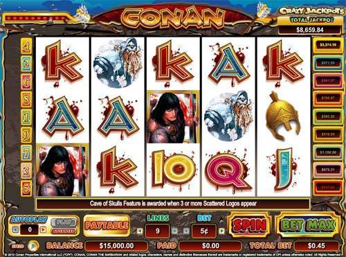 Conan the Barbarian free slot