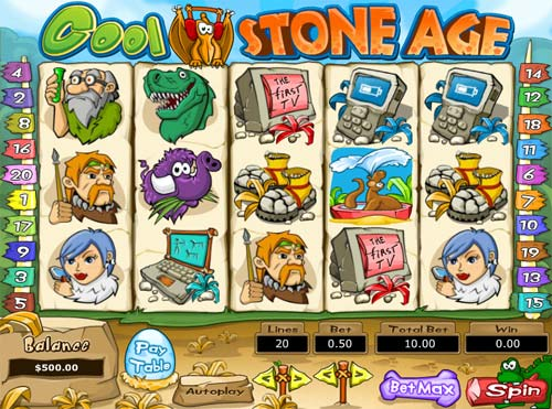Cool Stone Age free slot