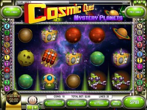 Cosmic Quest 2 free slot