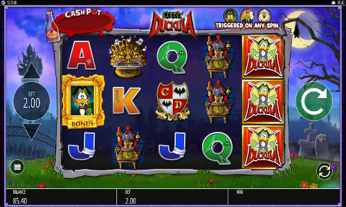 Count Duckula free slot