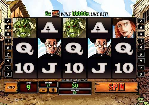 Cowboys and Aliens free slot