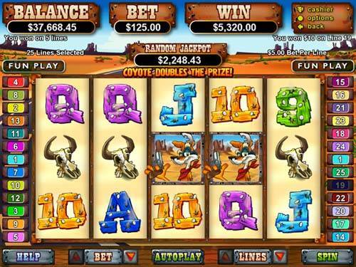 Coyote Cash free slot