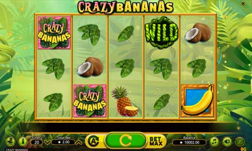 Crazy Bananas free slot