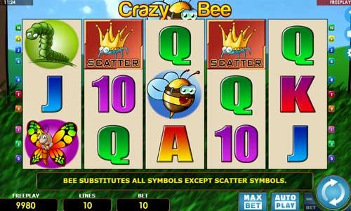 Crazy Bee free slot